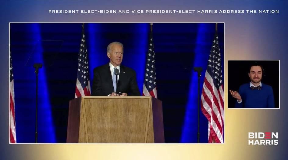 Joe biden presidente discorso