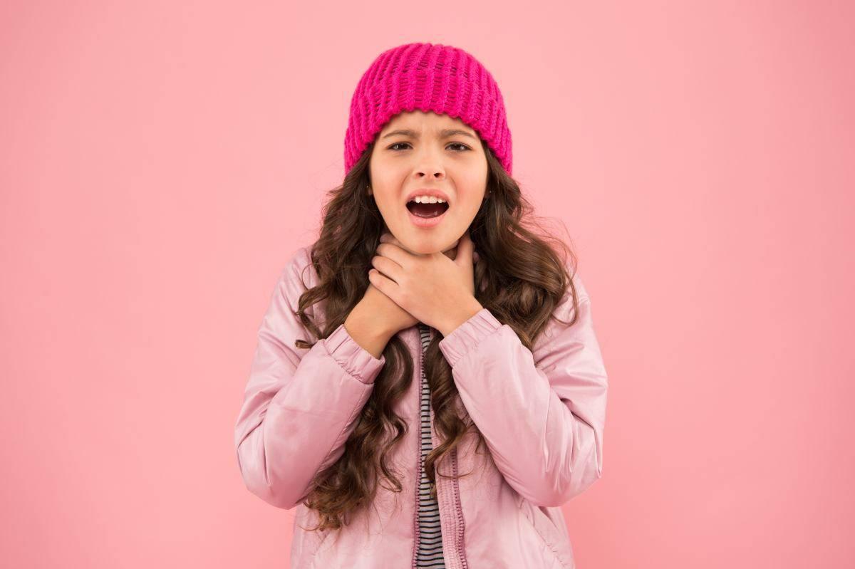bambini e malanni stagionali la laringite