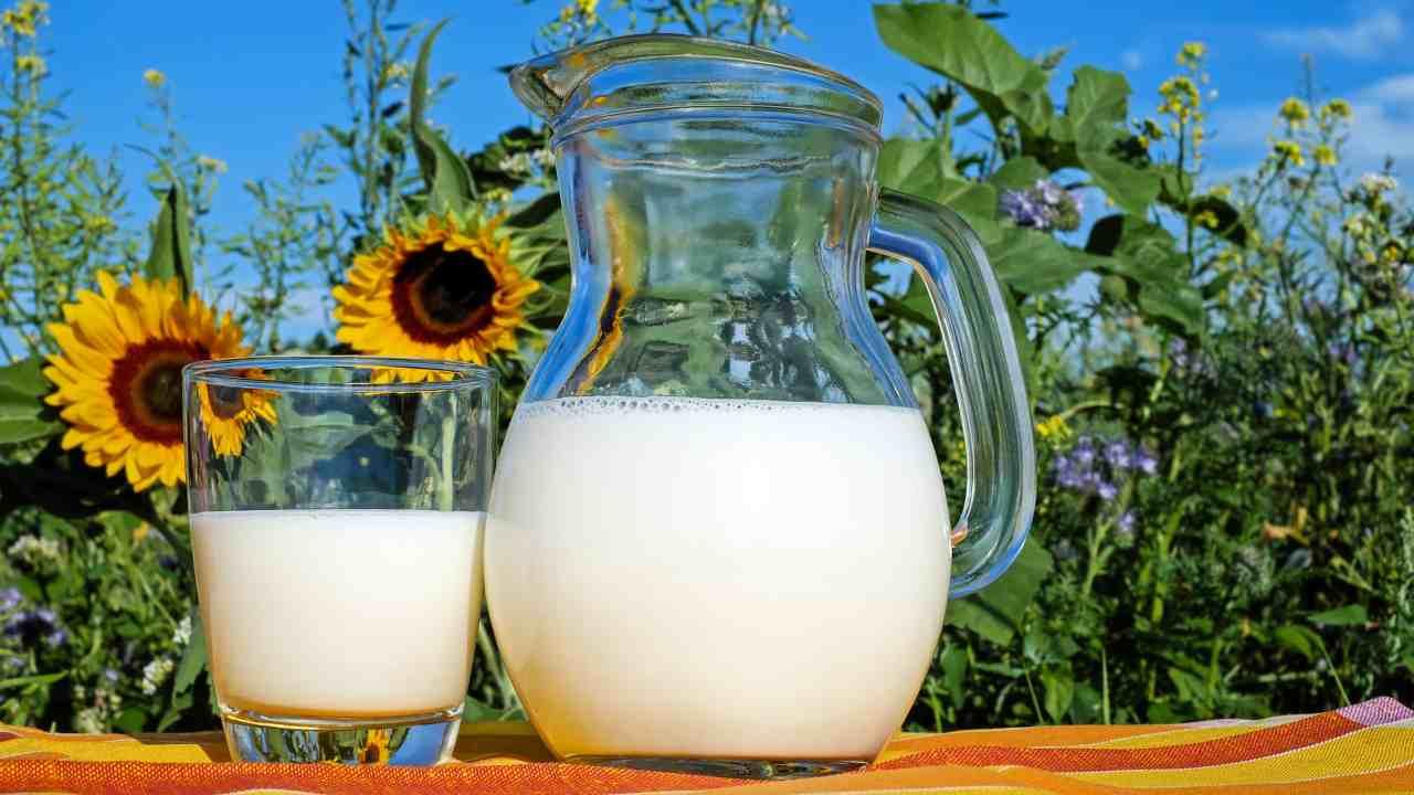 sostituire latte calcio