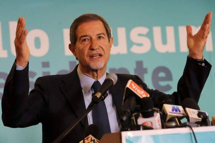 Nello Musumeci presidente della Regione Sicilia polemizza sull'ultimo dpcm di Conte