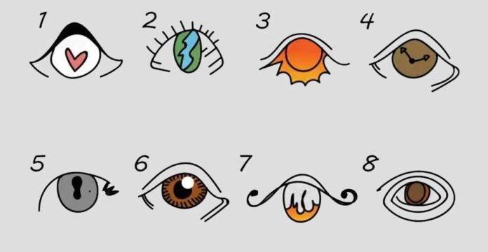occhi test