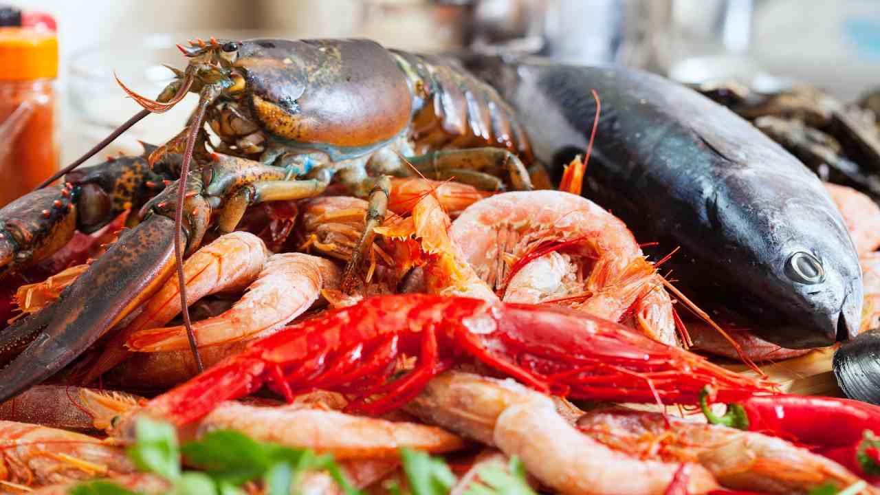 cena a base di pesce