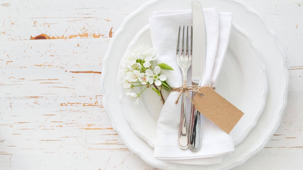 pranzo in bianco