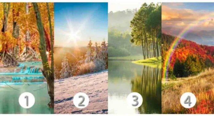 test psicologico scegli un paesaggio