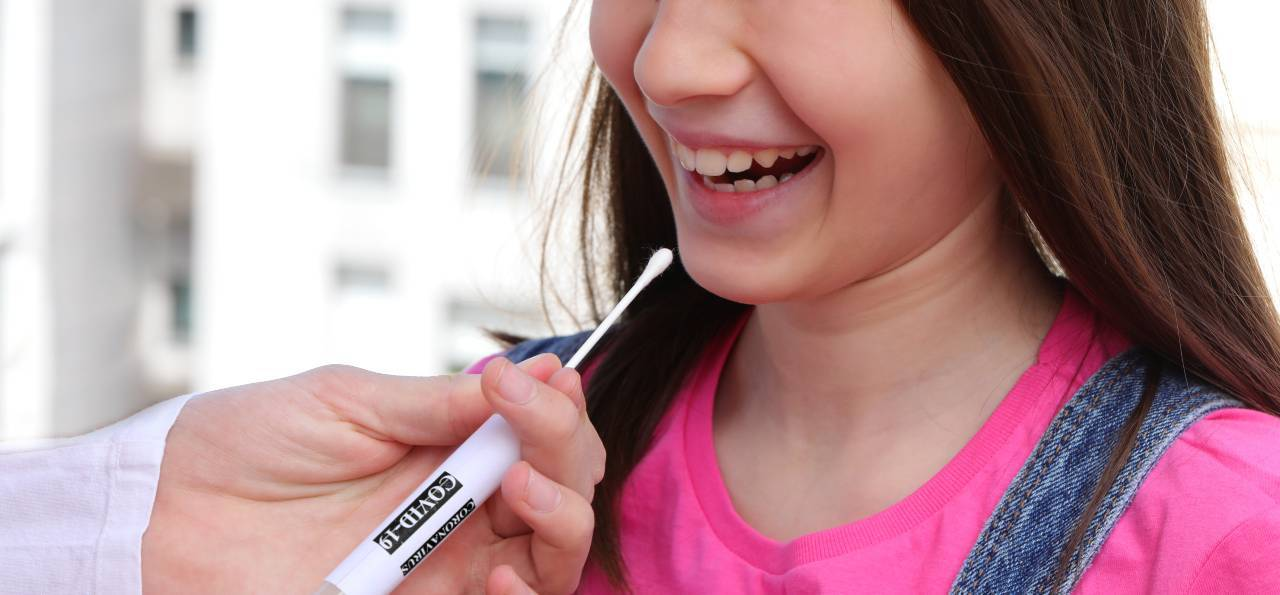 test salivare bambini