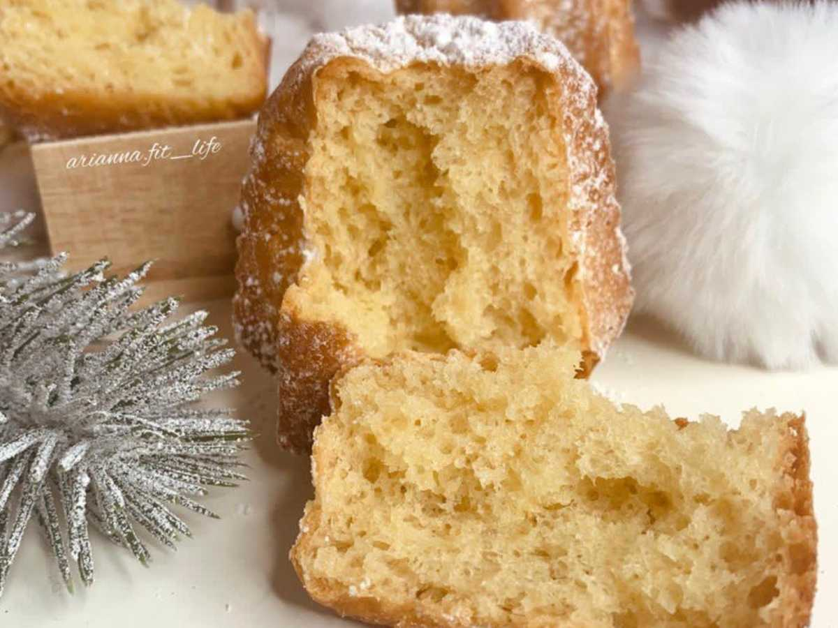 Pandorini senza zuccheri aggiunti, con pochissimi grassi, facilissimi!