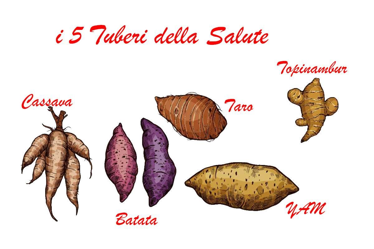 5 tuberi del benessere