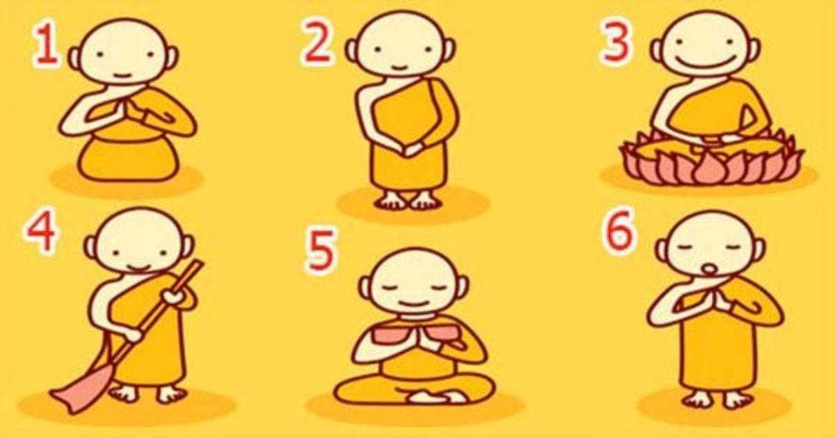 test del monaco buddista