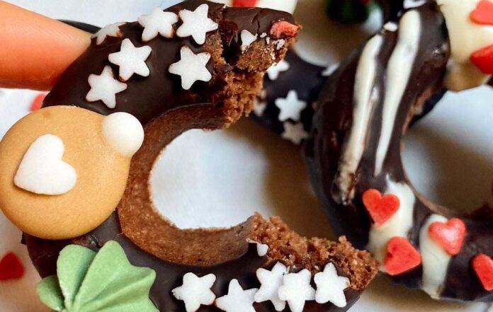 Baby Christmas Donuts