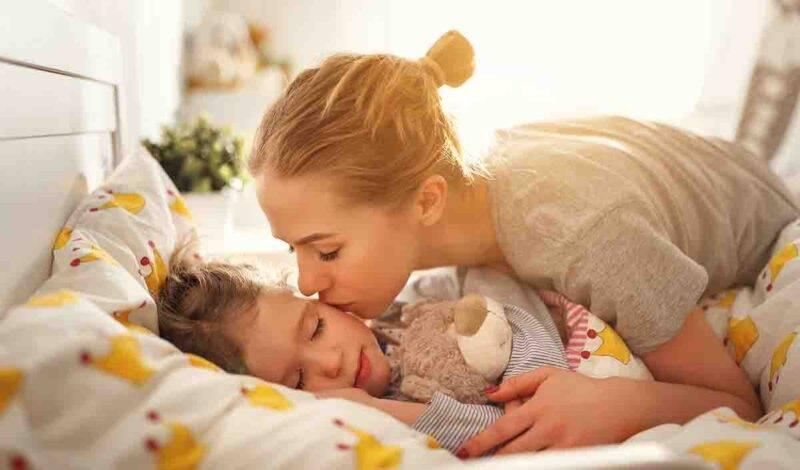 bacio della mamma benefici