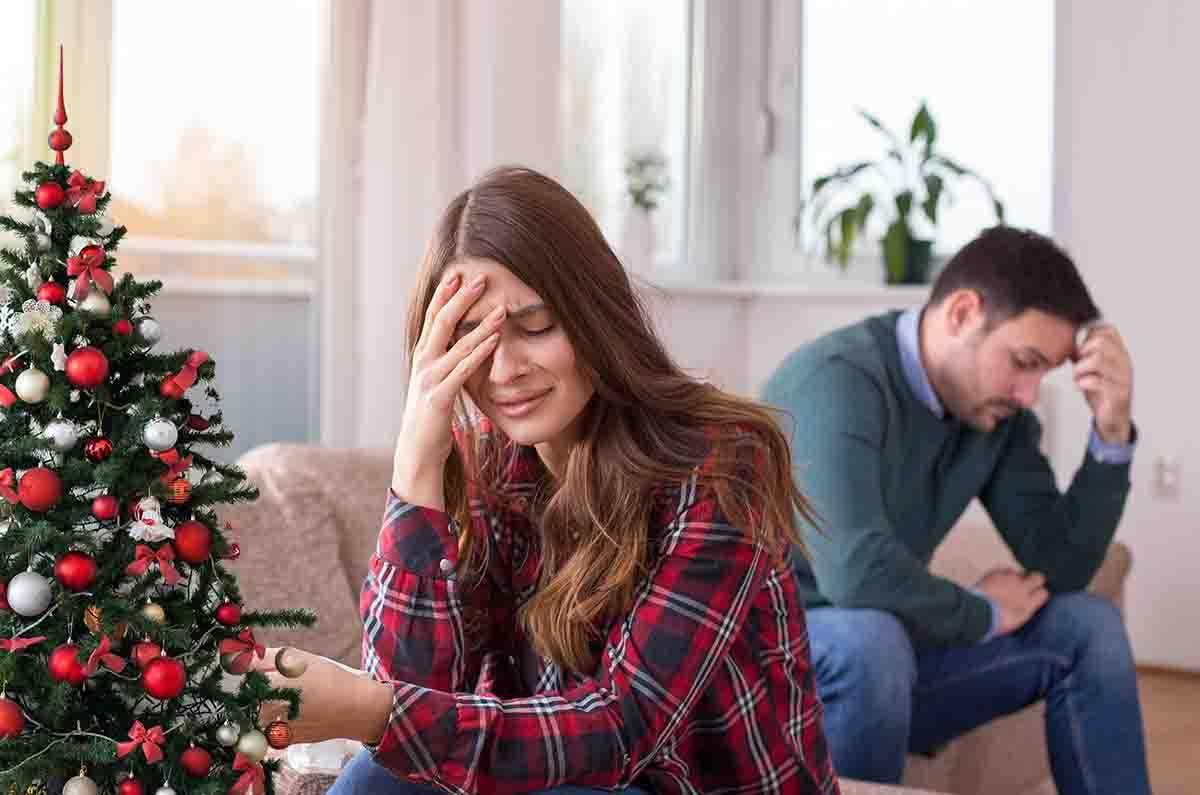 Natale in solitudine per molte persone
