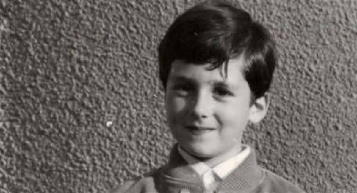 Alberto Angela da piccolo