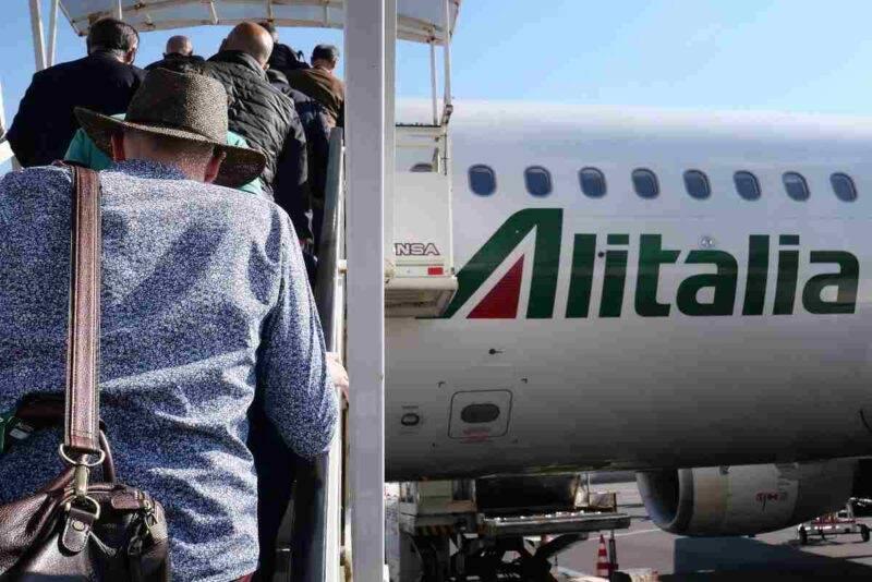 Alitalia in crisi, nodo sugli stipendi (Getty Images)