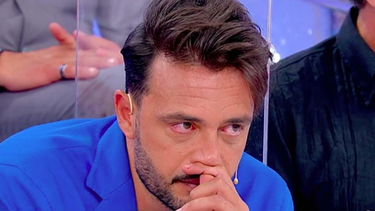 Armando Incarnato piange