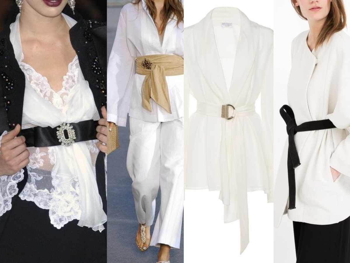 cinque modi di abbinare la camicia bianca