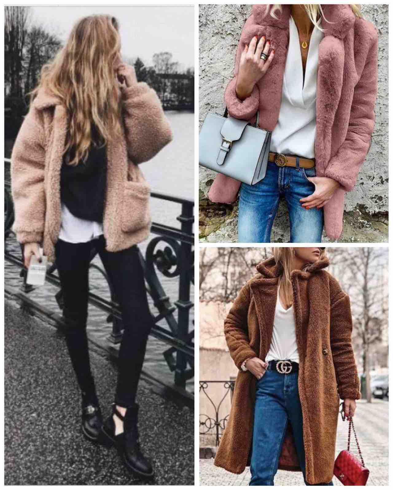cappotto teddy bear modelli