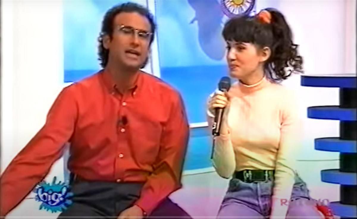 Carlo Conti e Arianna a Big