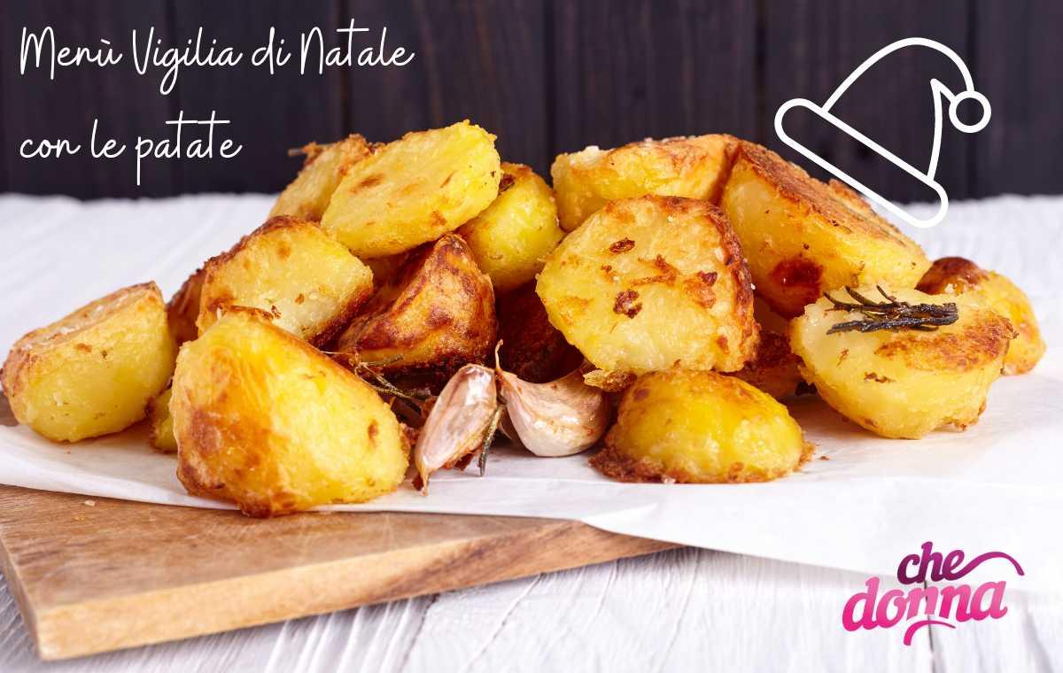 Menù Vigilia di Natale a base di patate: preparazioni sfiziose