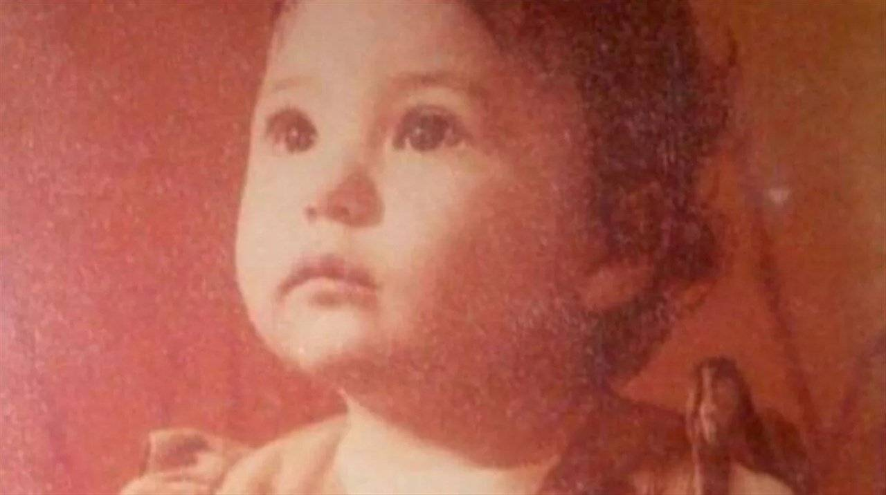 Elisabetta Gregoraci da piccola