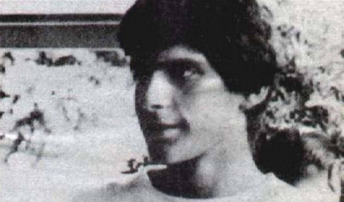 Fabrizio Frizzi da giovane