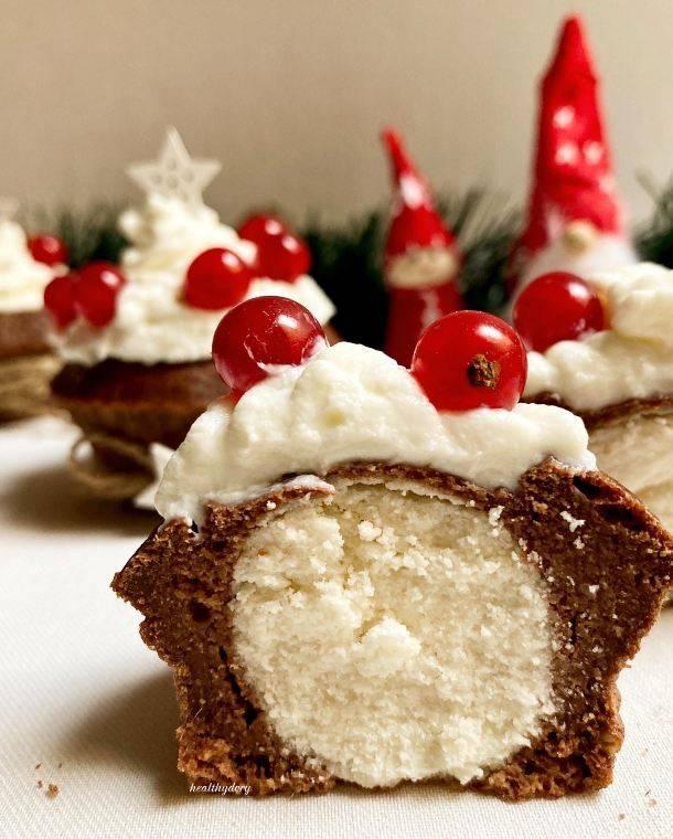 Christmas Cupcakes light