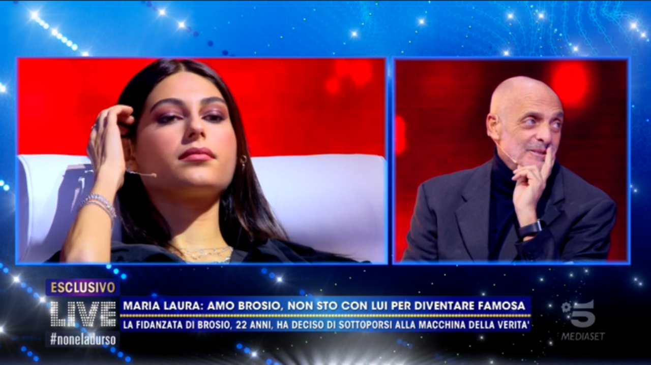 Maria Laura De Vitis e Paolo Brosio