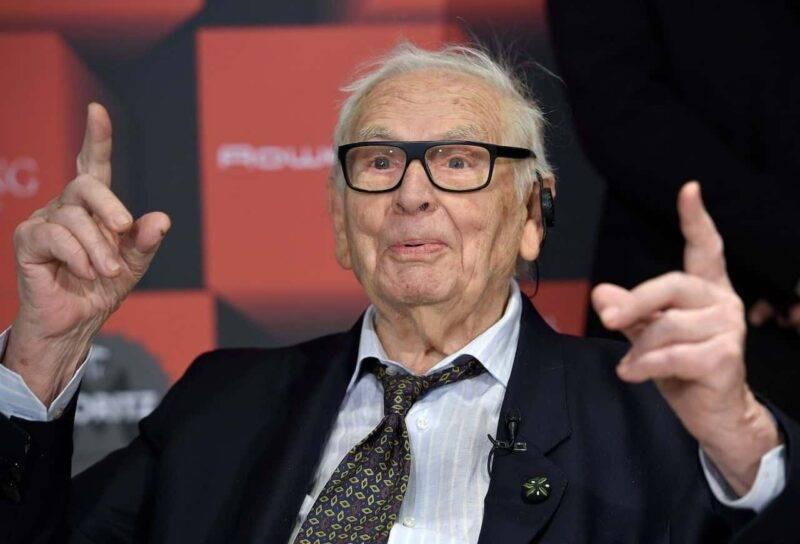 Moda in lutto, è morto Pierre Cardin (Getty Images)