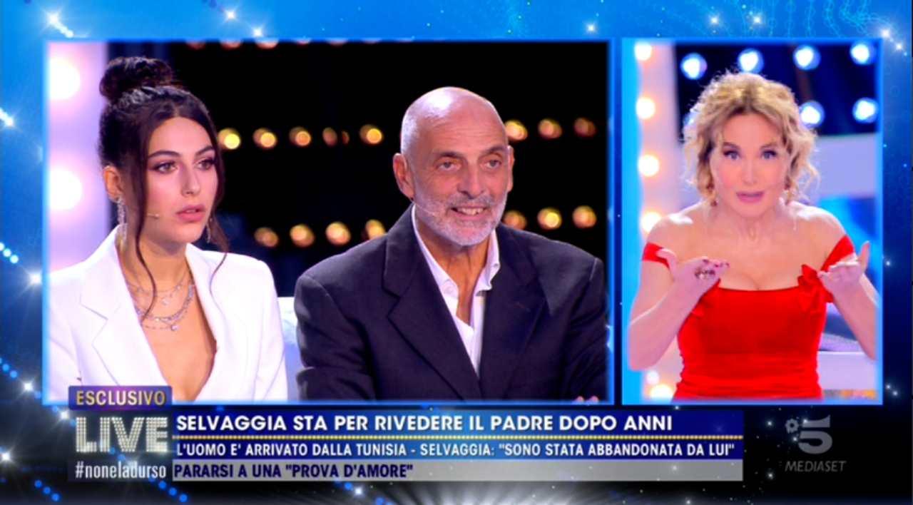 Maria Laura De Vitis, Paolo Brosio e Barbara d'Urso
