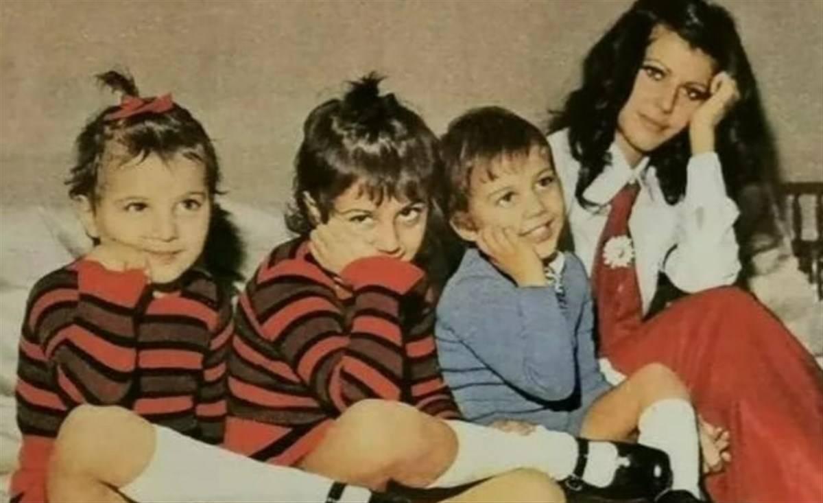Rosalinda Celentano famiglia