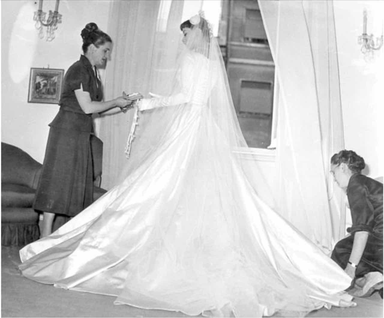 Audrey Hepburn sposa