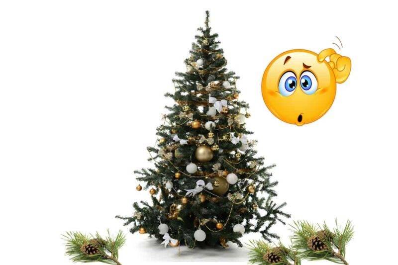 albero di natale problemi