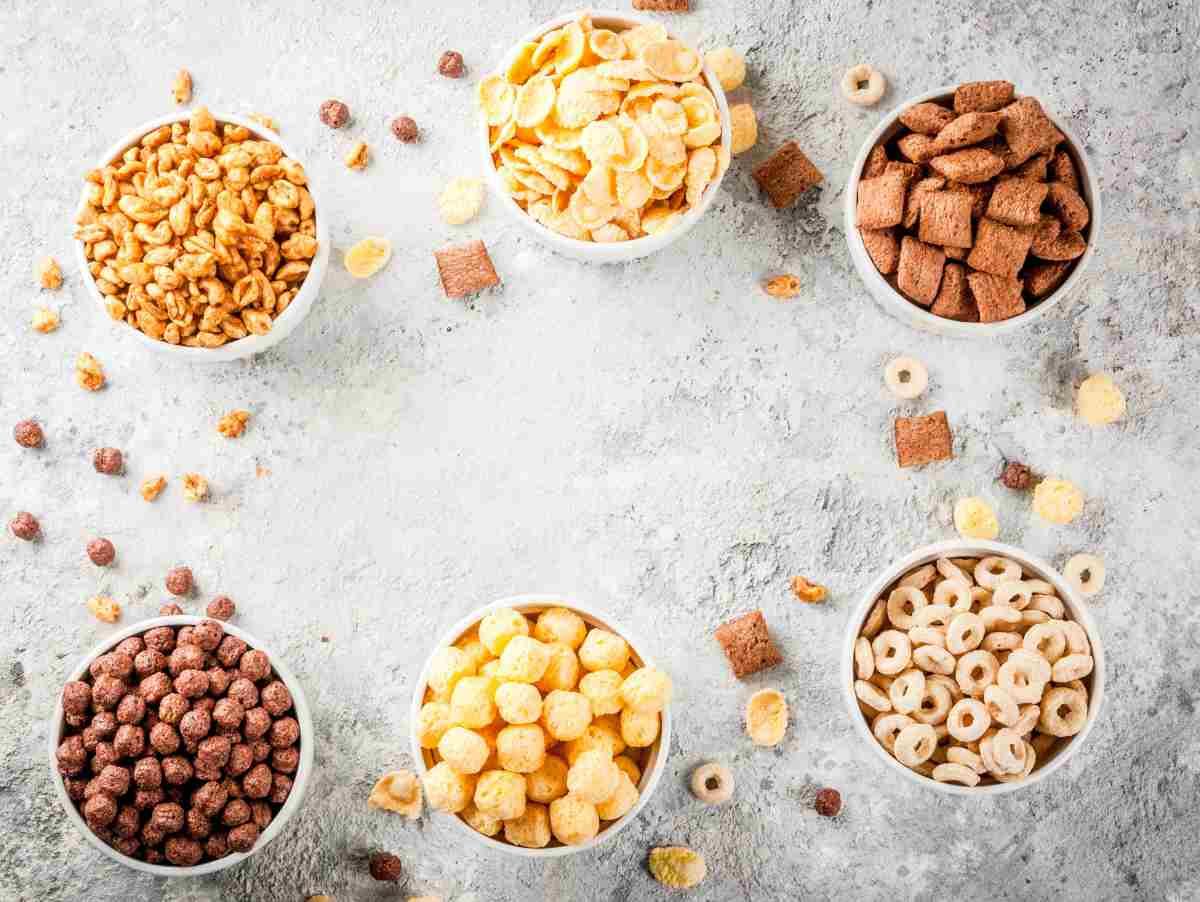 cereali in tazza
