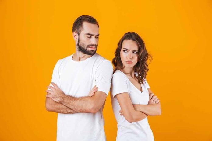coppia litigio e virtù