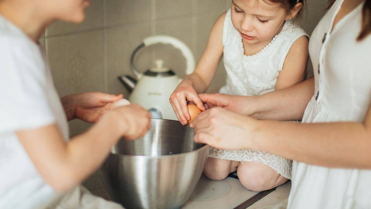 cucinare con i bambini natale