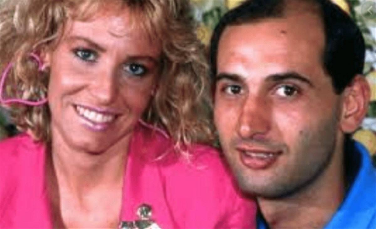 Antonella Clerici e Pino Motta