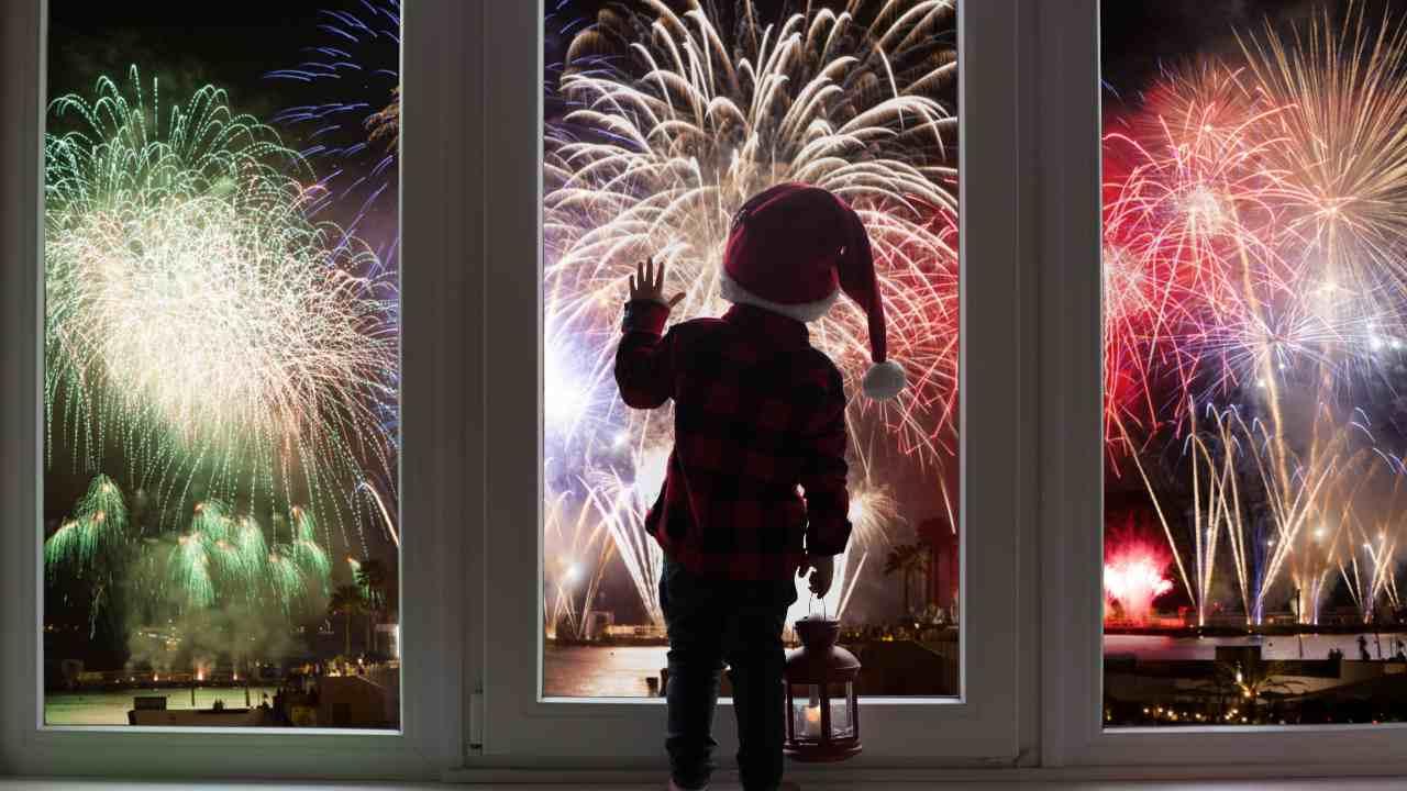fuochi artificio bambini