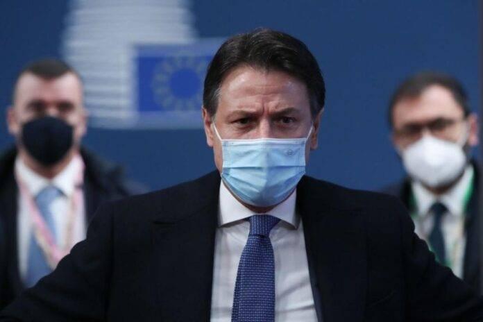 Conte, il discorso alla Camera (Getty Images)