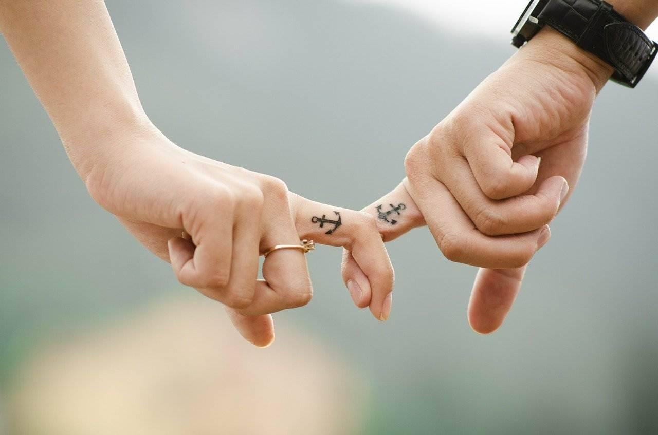 gesto romantico