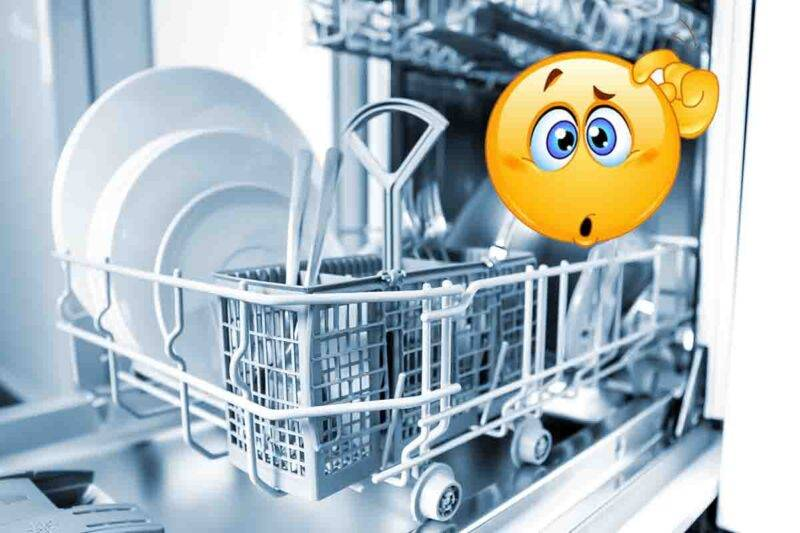 errori uso lavastoviglie