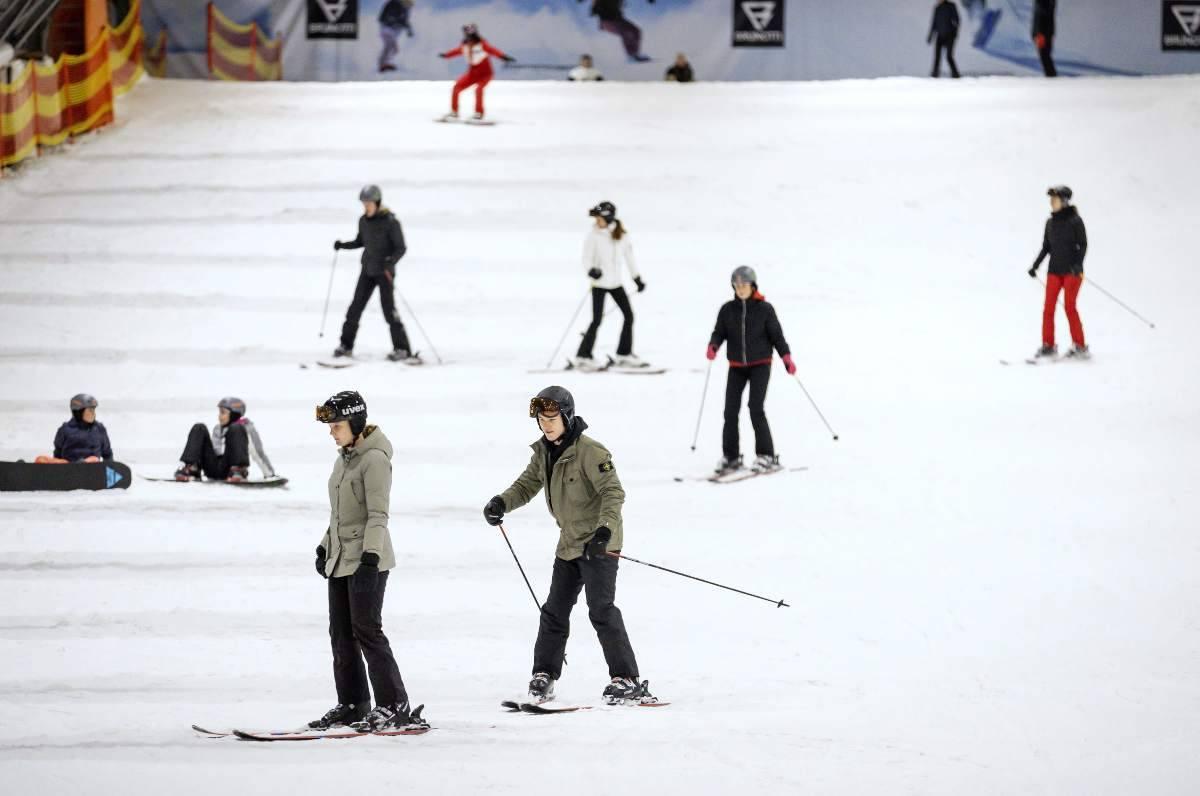 Crisanti polemizza contro i vacanzieri della neve