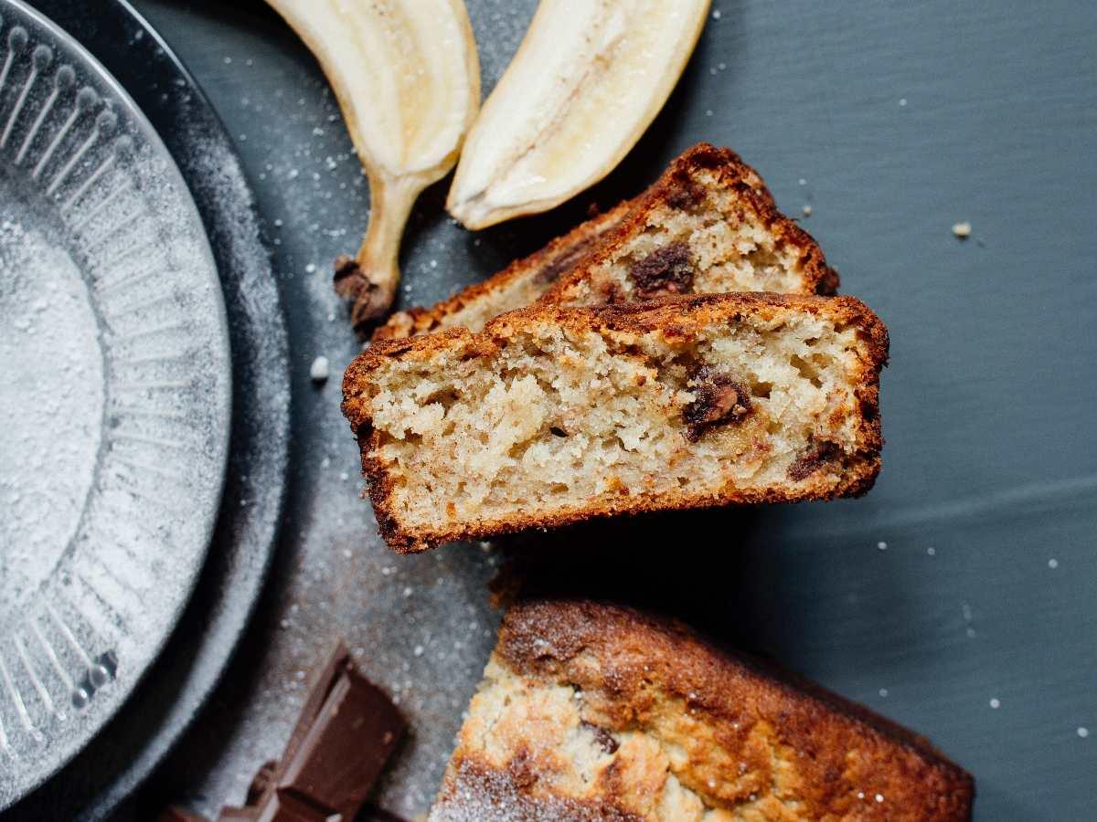 Pane banana e cioccolato light
