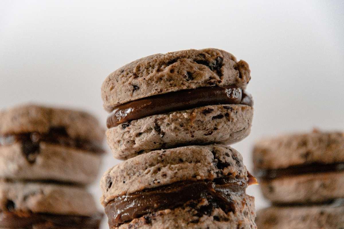 Biscotti cocco e cioccolato fatto in casa