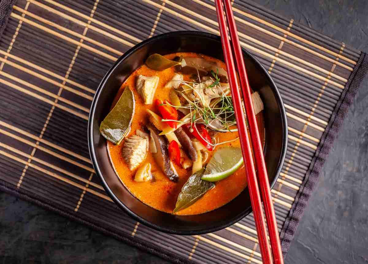 piatto orientale