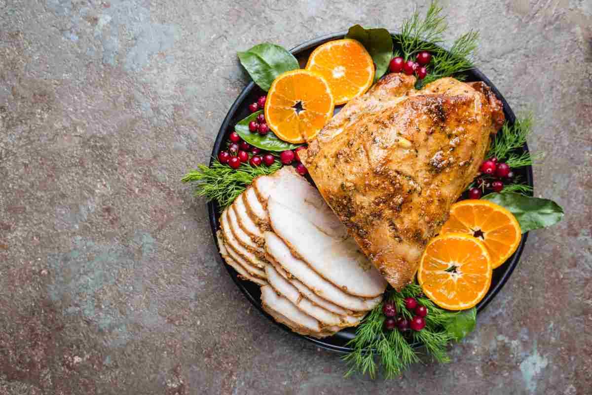 Pranzo di Natale le migliori ricette con il pollo e il tacchino