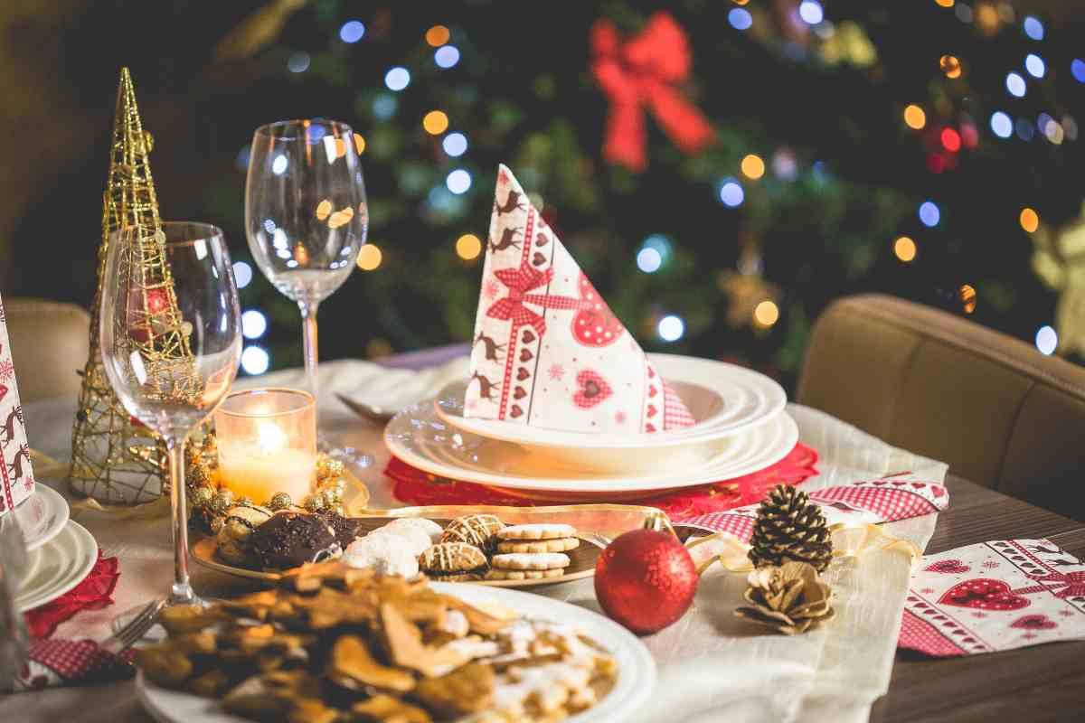 pranzo di Natale 2020 tavola