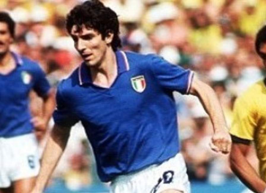 paolo rossi in campo