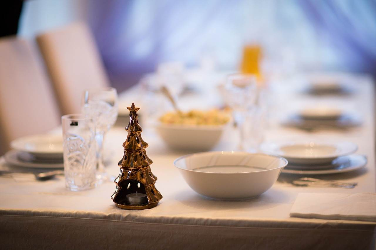 Pranzo di Natale tavola