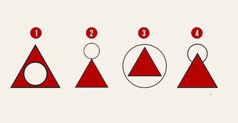 test cerchio triangolo
