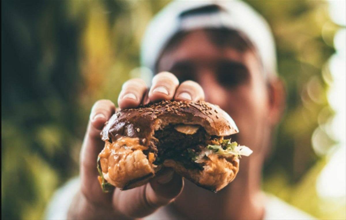 panino hamburger junk food