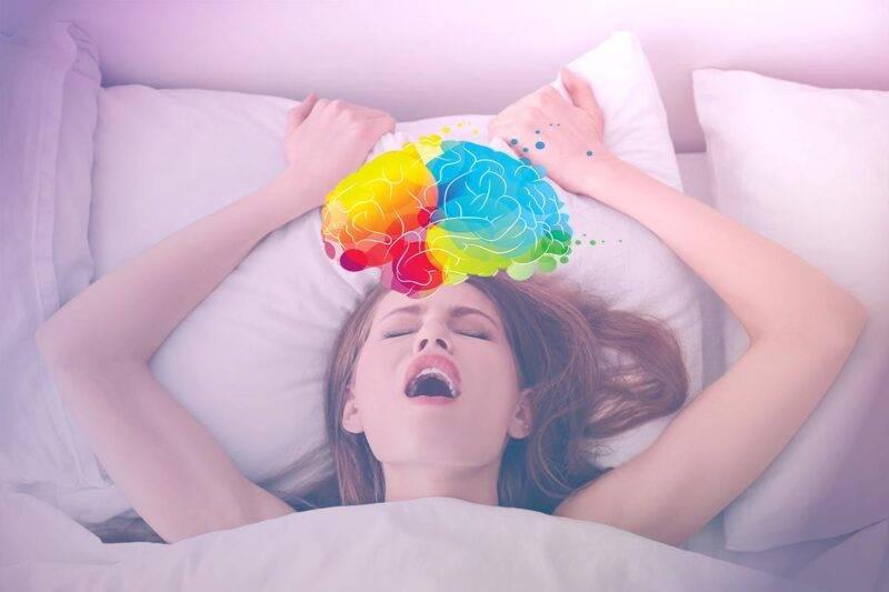 donna cervello orgasmo